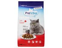 Prevital Naturel Granule hovězí pro kočky 1x1,4kg