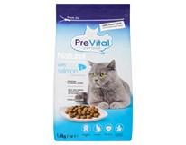 Prevital Naturel Granule pro kočky losos 1x1,4kg
