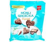 Müsli srdíčka čokoláda/kokos 1x50g