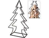 Držák na dřevo ke krbu, tvar strom 1ks