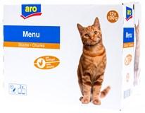ARO Kapsička pro kočky drůbeží 12x100g