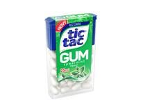 Tic Tac Gum Spearmint dražé se žvýkačkou 12x12,1g