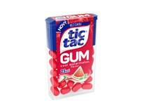Tic Tac Gum Watermelon dražé se žvýkačkou 12x12,1g