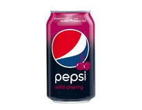 Pepsi Cola Wild Cherry 24x330ml plech