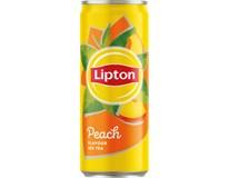 Lipton Čaj broskev 24x330ml plech
