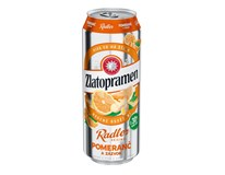 Zlatopramen Radler Pomeranč pivo 6x500ml plech