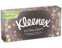 Kleenex Ultra Soft Kapesníky 3-vrstvé 1x80ks box
