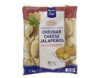 Metro Chef Jalapenos cheddar sýr mraž. 1x1kg