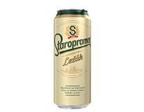 Staropramen 12° Pivo světlý ležák 6x500ml plech