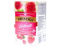 Twinings Čaj brusinka/malina 1x40g
