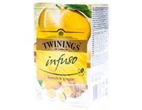 Twinings Čaj citron/zázvor 1x30g