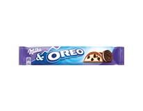 Milka Oreo tyčinka s kousky sušenek v mléčné čokoládě 36x37g