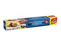 Papír na pečení+alobal 2v1 Fino 1ks