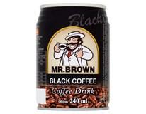 Mr.Brown Ledová káva Black 6x240ml plech