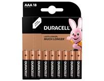 Baterie Duracell Basic AAA 18ks