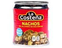 La Costeňa Jalapeno nacho krájené 1x220g