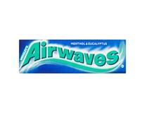 Airwaves žvýkačky Menthol&Eukalyptus dražé 30x14g