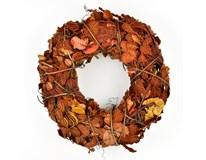 Věneček ratanový podzimní 1ks