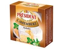 Président Camembert bylinkový chlaz. 5x90g