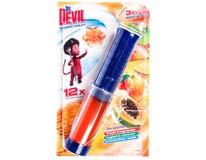 Dr.Devil WC bodový blok Tropic fruit 3v1 1x75ml