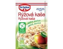 Dr.Oetker Kaše rýžová bez lepku jablko/skořice 1x52g