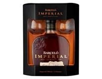 Ron Barceló Imperial 38% rum 6x(1x700ml + sklenice 2ks)