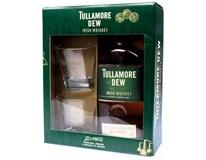 Tullamore Dew whisky 40% 6x(1x700ml + sklenice 2ks)