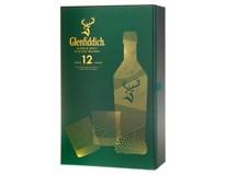 Glenfiddich GPK 12yo 40% whisky 1x700ml + sklenice 2ks