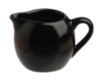 Mlékovka Tognana Sphere porcelán 50ml černá 1ks