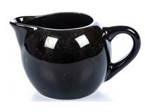 Mlékovka Tognana Sphere porcelán 130ml černá 1ks