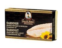 Franz Josef Kaiser Sardinky filety ve slunečnicovém oleji 1x90g