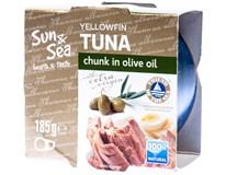 Sun&Sea Tuňák ve extra virgin olivovém oleji 1x185g