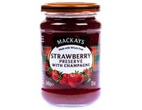 Mackay Džem jahoda/šampaň 1x340g
