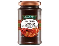 Mackays Chutney sušená rajčata/chilli 1x225g