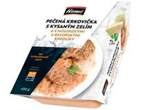 Hamé Krkovice pečená s kyselým zelím a knedlíkem chlaz. 1x450g