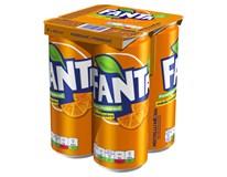 Fanta Orange 4x330ml plech