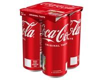Coca-Cola 4x330ml plech