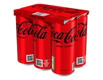 Coca-Cola Zero 6x(4x0,33L) plech