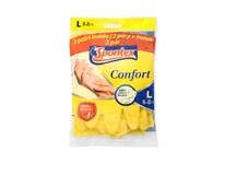 Rukavice Spontex Confort vel.L 2x2ks