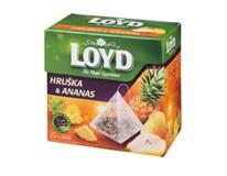 Loyd čaj ananas/hruška pyramidový 20x2g