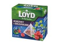 Loyd čaj borůvky/brusinky pyramidový 20x2g
