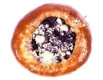 Koláč moravský borůvkový nebalený 1x120g