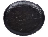 Talíř dezertní Vulcania 21cm porcelán černý 1ks