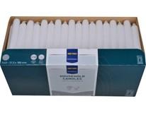 Svíčka Metro Professional 2x18cm bílá 100ks