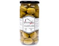 Vegatoro Zelené olivy plněné česnekem 1x720g
