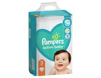 Pampers Active Baby Midi S3 pleny 1x152ks
