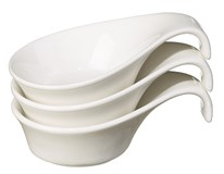 Miska Metro Professional Creamy porcelán 3ks