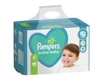 Pampers Active Baby Extra Large S6 pleny 1x96ks