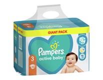 Pampers Active Baby Plenky dětské M7 S3 1x90ks