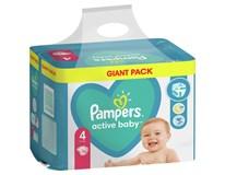 Pampers Active Baby Plenky dětské M7 S4 1x76ks